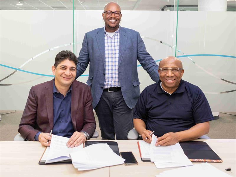 Telkom与Vodacom签署<font color=