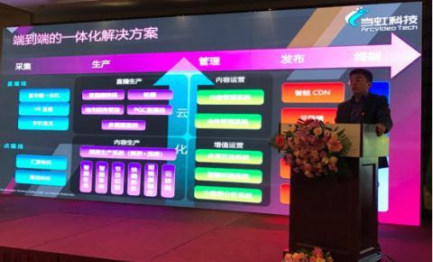 三十届西部年会 当虹科技分享智能技术应用