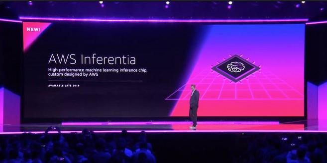 亚马逊云正式发布首款云端AI芯片Inferentia!
