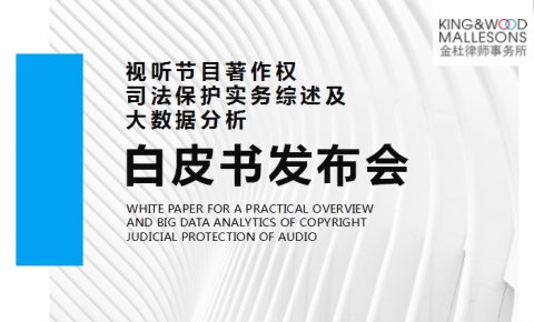 重磅!第六届中国网络视听大会发布《视听节目著作权司法保护实务综述及<font color=