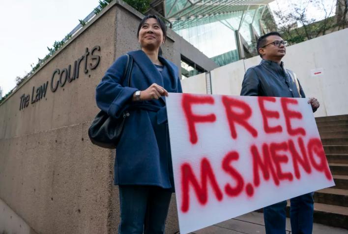 华为CFO孟晚舟获保释,加拿大疑遭报复,前外交官北京被拘!