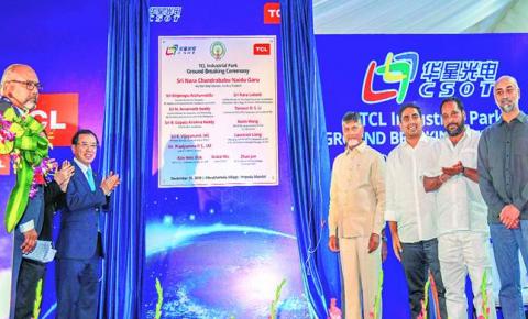 TCL集团印度最大面板工厂奠基,拟剥离家电业务后的转型第一炮
