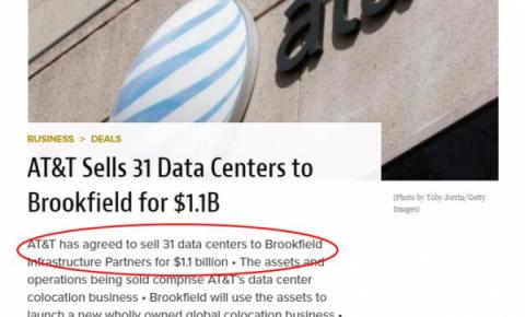 数据中心屡遭抛售,<font color=