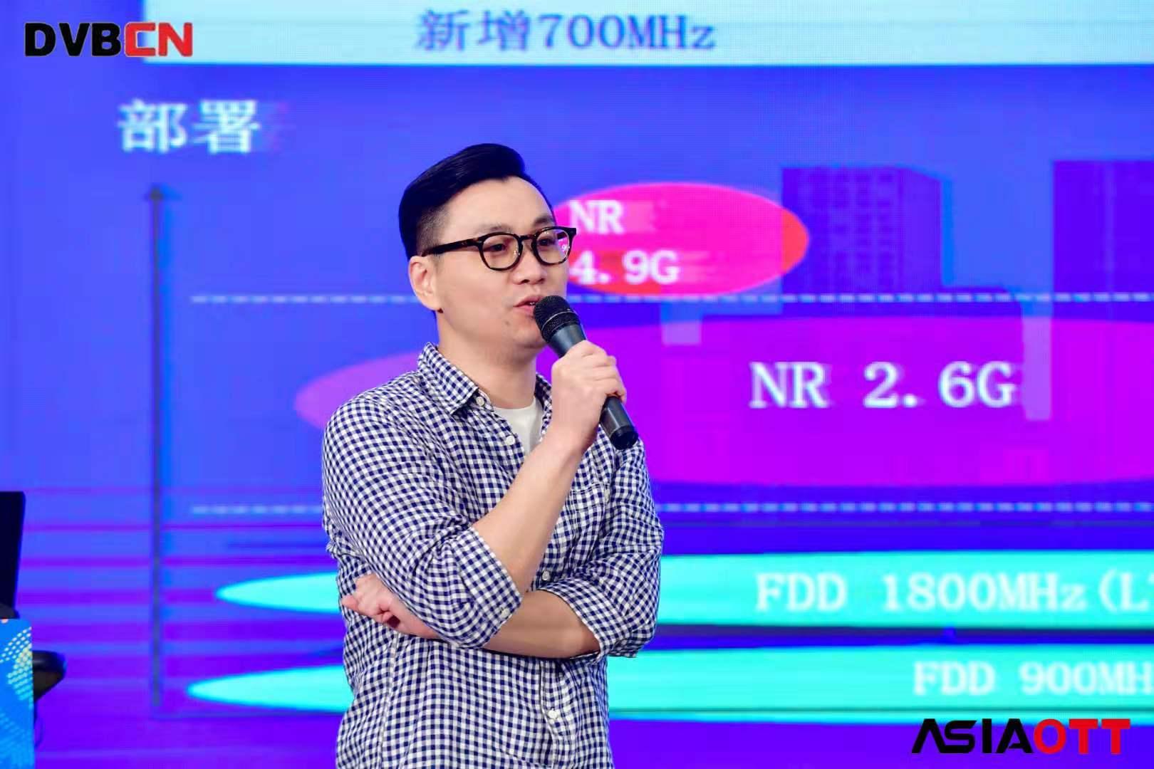 【BIRTV2019】果通科技创始人兼CEO施成斌:在未来5年内eMBB业务仍将主导5G的服务收入