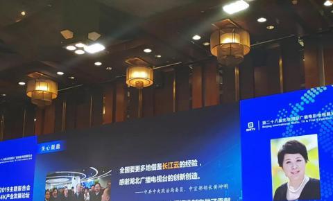 【BIRTV2019】湖北长江云张建红:长江云二期建设预计投入达8740万