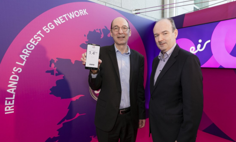 eir在爱尔兰推出5G:由爱立信5G Core支持
