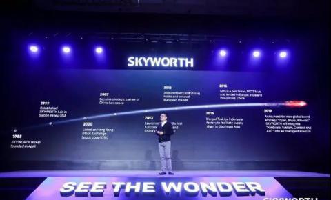 创维、LG新的一年相继发布8K电视,欲以高端品牌突围!