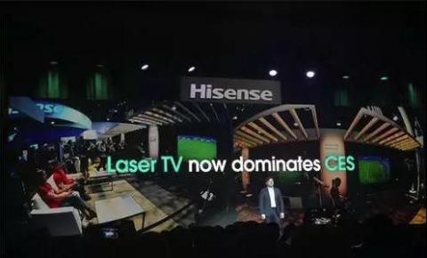 海信CES2020立下Flag,未来电视出货量将达4000万台