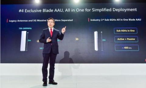 华为发布5G十大能力,拿下全球三分之二多大的5G运营商