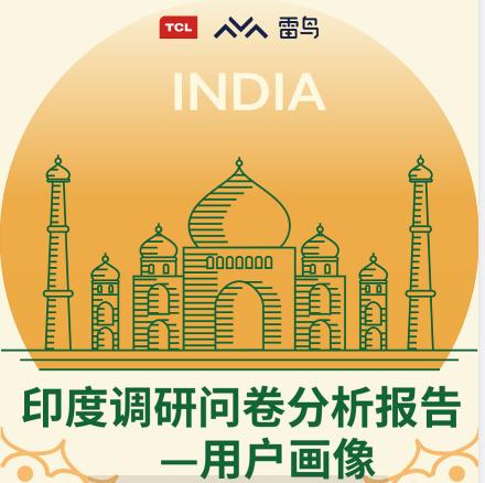 【快讯】TCL电视印度用户画像报告出炉,准独角兽雷鸟科技的TCL Channel跻身用户最喜爱内容应用榜单TOP5