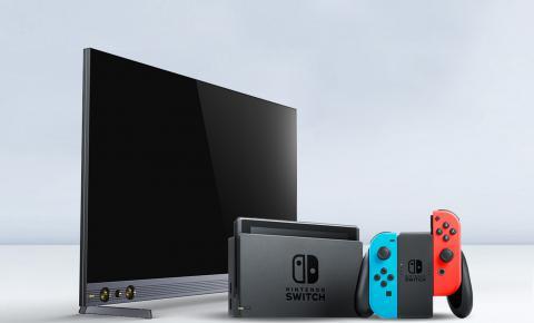 长虹电视一键启动SWITCH游戏模式 虹领金引娱乐健身新潮流