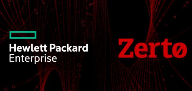 3.74亿!HPE收购云数据管理和存储保护提供商Zerto