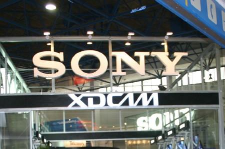 索尼数字设备展区的人气相当高